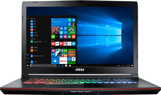Recover Deleted/Lost Files on MSI Laptop