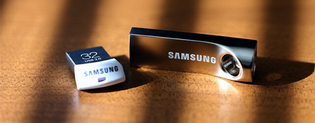 recover deleted data from Samsung USB flash drive on Mac