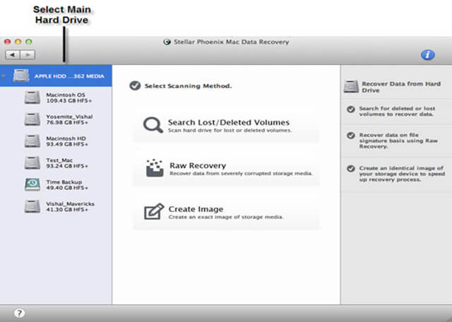 Top 5 Mac Data Recovery Application