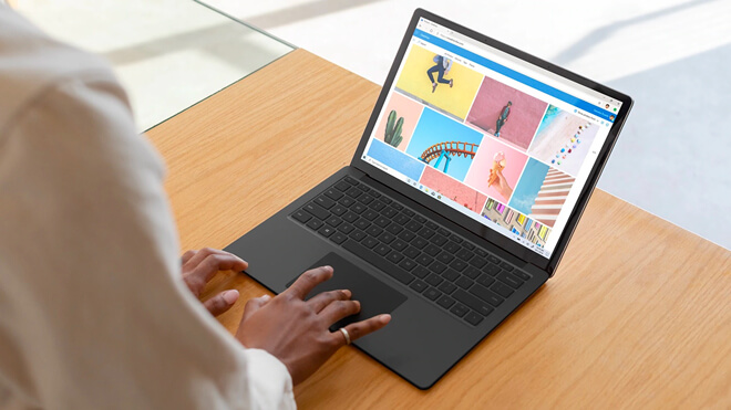 recover lost data on Surface laptop