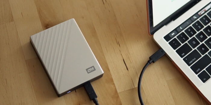 Clone Local Hard Drive to A WD Portable Hard Drive