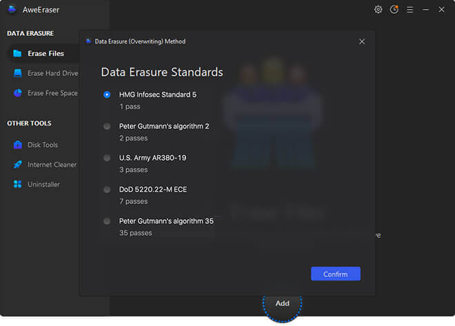 data eraser user guide